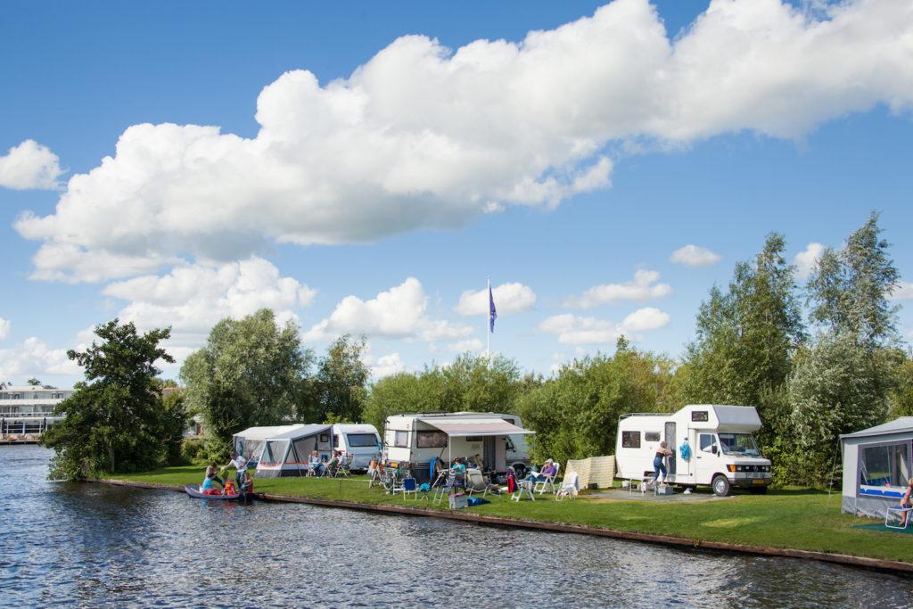 Camping viswater